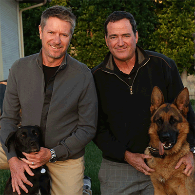 John the Dog Trainer & Dave Rickards